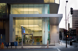 55 S. Market is an iconic 1980's era building in the historic core of downtown San Jose.