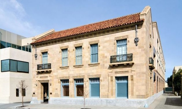 Exterior view of the original Palo Alto Internet Exchange (PAIX) building