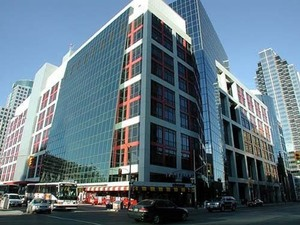 The building is home to the CBC (and a data center)
