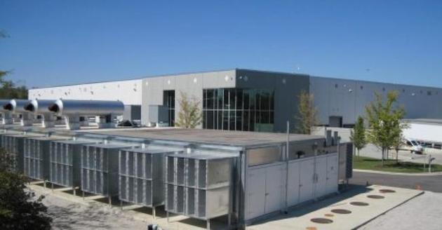 The data center was acquired in April 2016