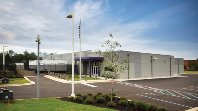 The 12,690 sq ft greenfield DC BLOX Huntsville data center is capable of delivering up to 20 MW of power