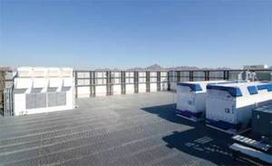 eBay has deployed 4,920 servers in these containerized data centers on the roof of its new data center in Phoenix.