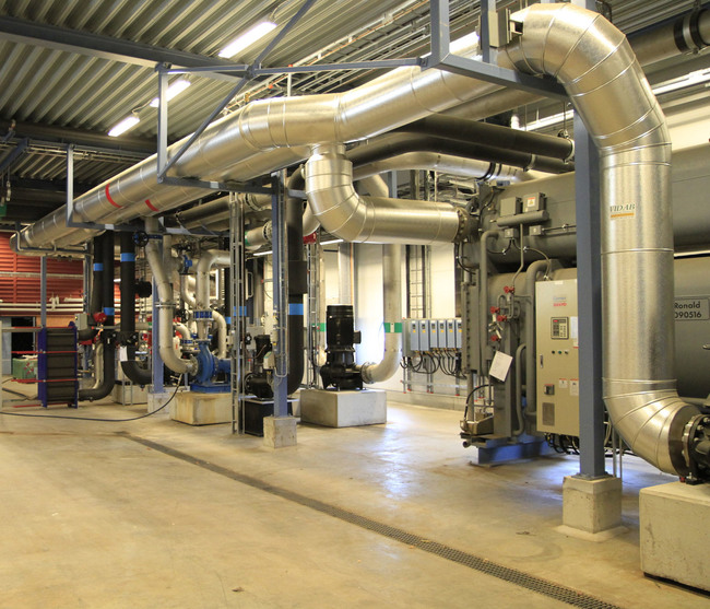 The facility has fully redundant cooling systems, independently capable of providing all cooling required.