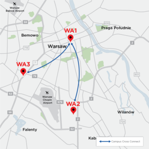 Equinix opens WA3 data center in Warsaw, Poland