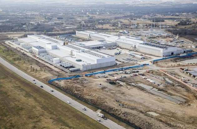 Phase I on the Alliance Texas development is pictured
