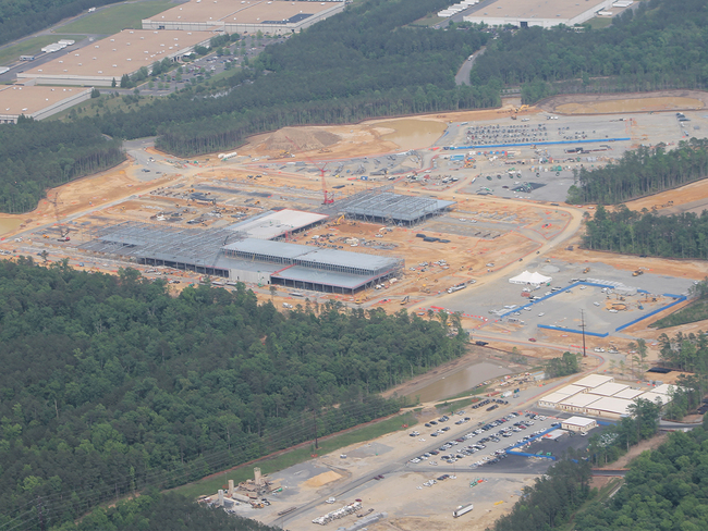 Site work began in February 2018, just five months after the project was announced, thanks to Henrico County's fast permitting approval program and the development-ready site at White Oak Technolog...