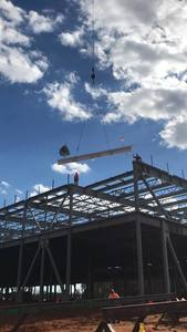 """The practice of """"topping out"""" a new building can be traced to the ancient Scandinavian religious rite of placing a tree atop a new building to appease the tree-dwelling spirits displaced in its con..."""