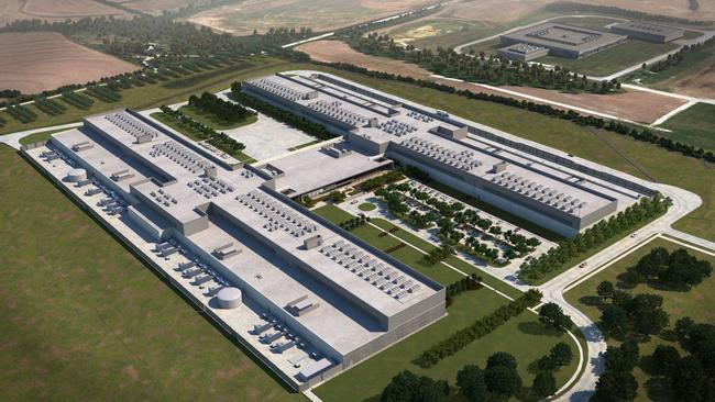 Facebook is in the process of building a massive data center in Sarpy County south of Papillion.