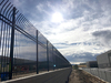 Flexential Compark site has over 2000 feet of high-security perimeter fence, two vertical pivot gates, several security barrier arms and a large 30 foot automated cantilever gate
