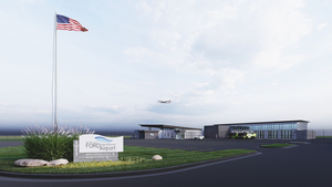 Gerald R. Ford International Airport is building an operations center in Grand Rapids, Michigan