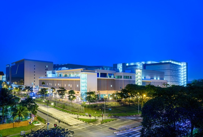 Google's first data center in Singapore opened in 2013.