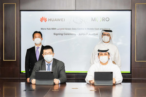 Huawei to build the largest solar-powered data center in the Middle East