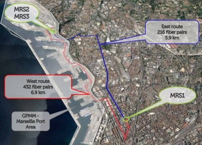 MRS 2 and 3 will be linked to MRS 1 by Interxion's own fiber network, creating the campus effect, where companies that keep their servers in Marseille-Fos Port can easily interconnect with any of t...