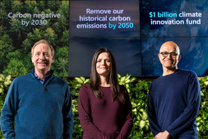 Microsoft makes pledge to run all data centers carbon neutral by 2030