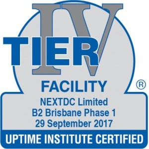 NEXTDC launches Australia's first Uptime Institute Tier IV-Certified Constructed Facility (PR)