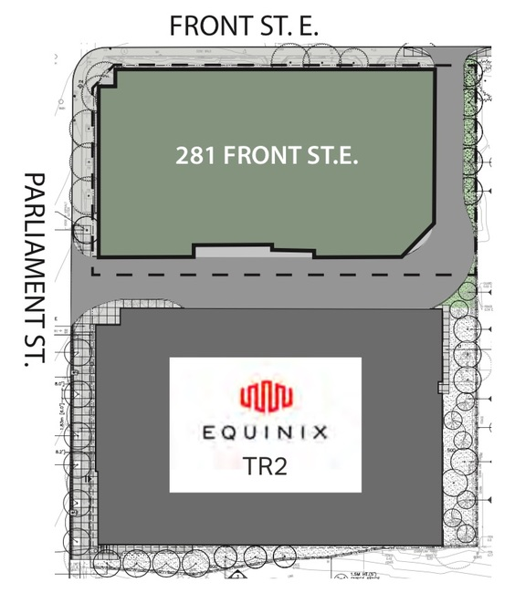The site was built next to Equinix's TR2 site in downtown Toronto