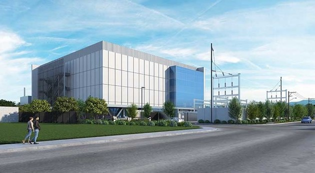 The data center is expected to be completed in Spring of 2019.