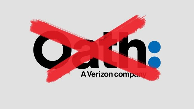 The Yahoo, AOL, HuffPo mashup known as Oath has been retired. The subsidiary is now known as Verizon Media Group.
